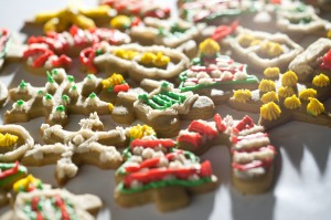 Sugar Cookies made with Cannabis Butter and Flour